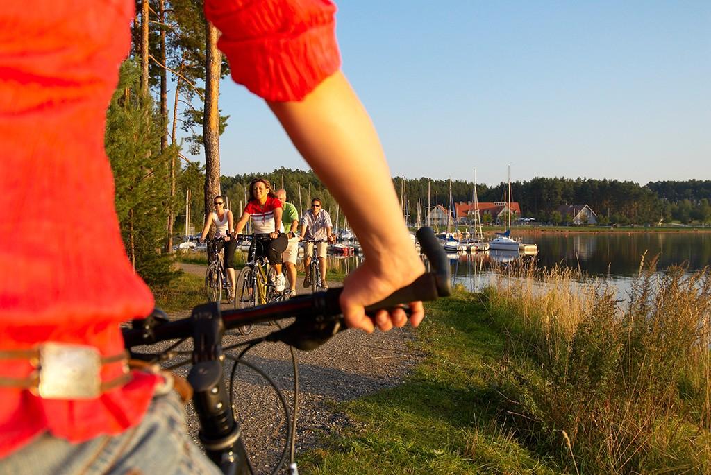 Biken im Fränkischen Seenland