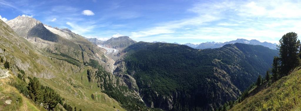 Aletsch Gletscher MTB